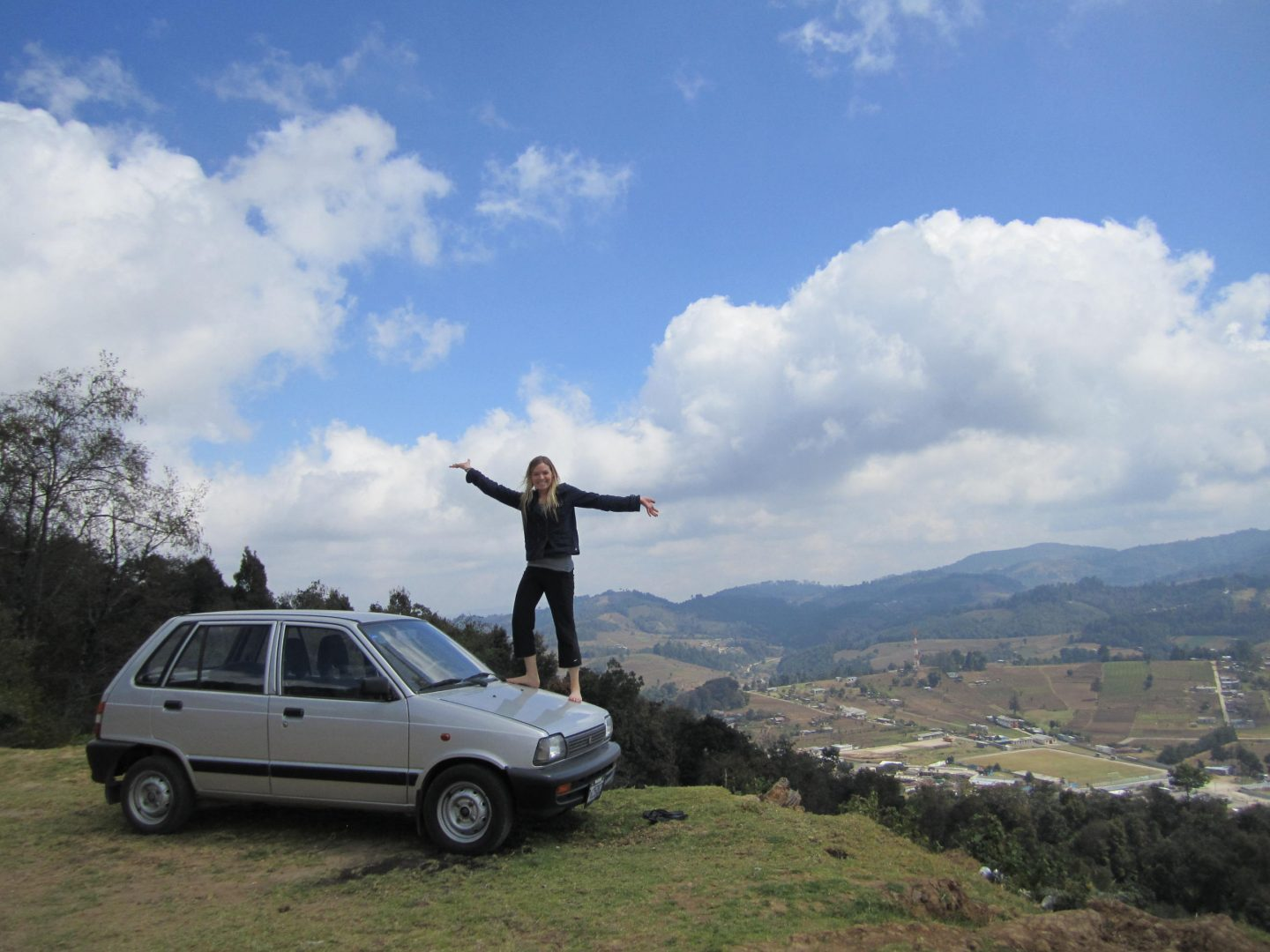 Guatemala and The Little Maruti Car