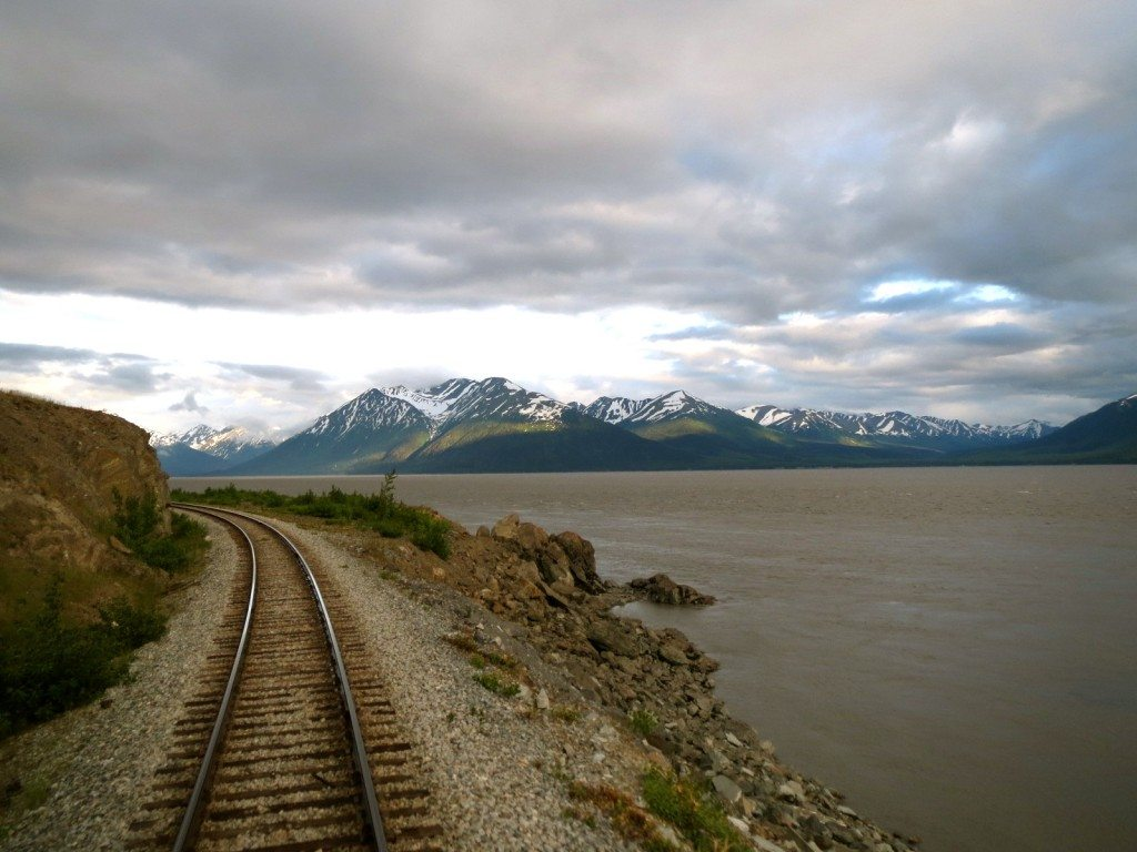 Alaska Train Anchorage Alaska