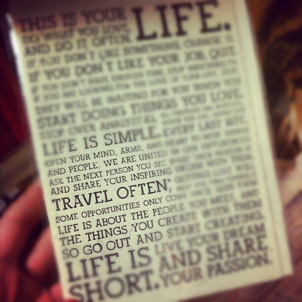 Traveling is Life