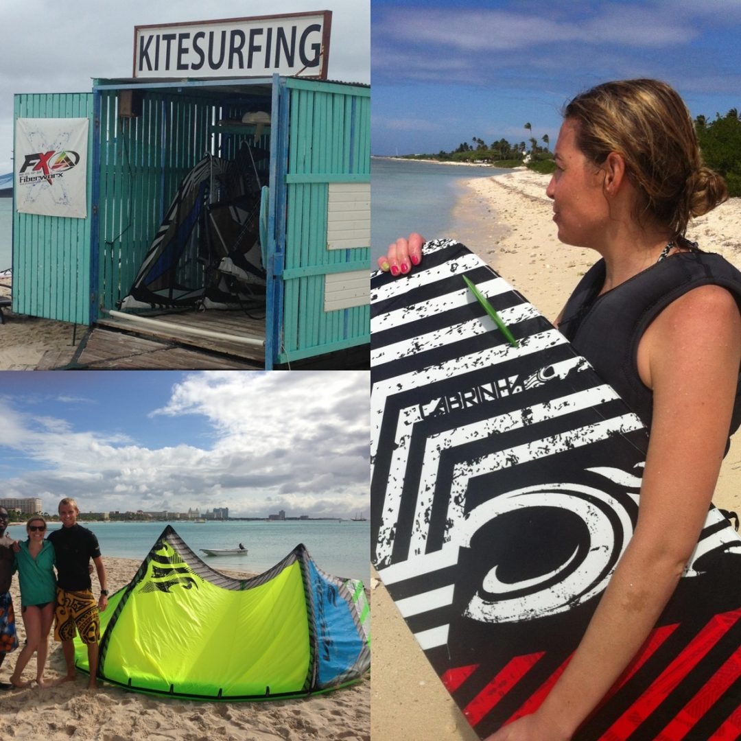 Kiteboarding in Aruba