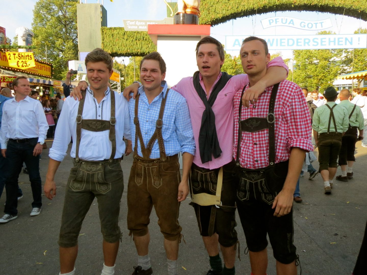 Lederhosen German Boys