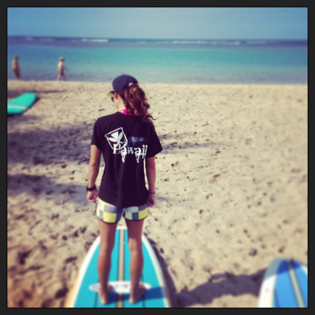 Paddle Boarding Ala Moana Beach Park