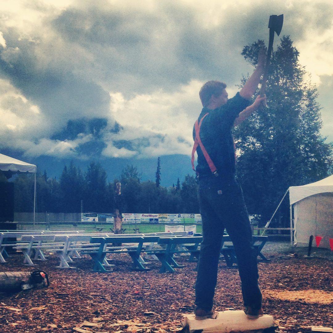 Alaska Lumberjack