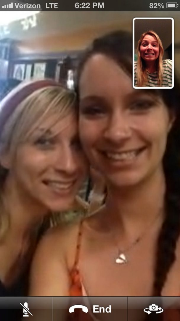 FaceTime Flight Attendants