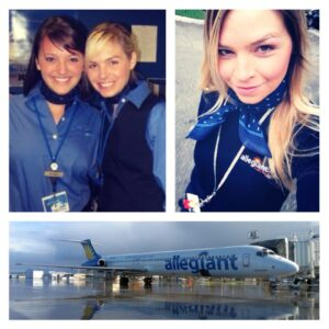 Allegiant flight attendants