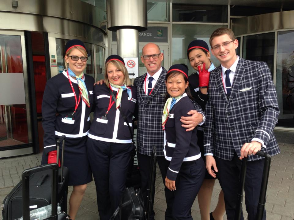 Norwegian Air Uniforms