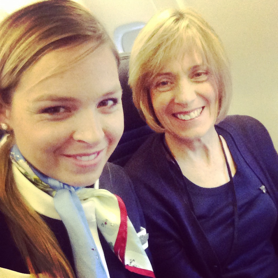 Mom and Daughter Flight Attendants