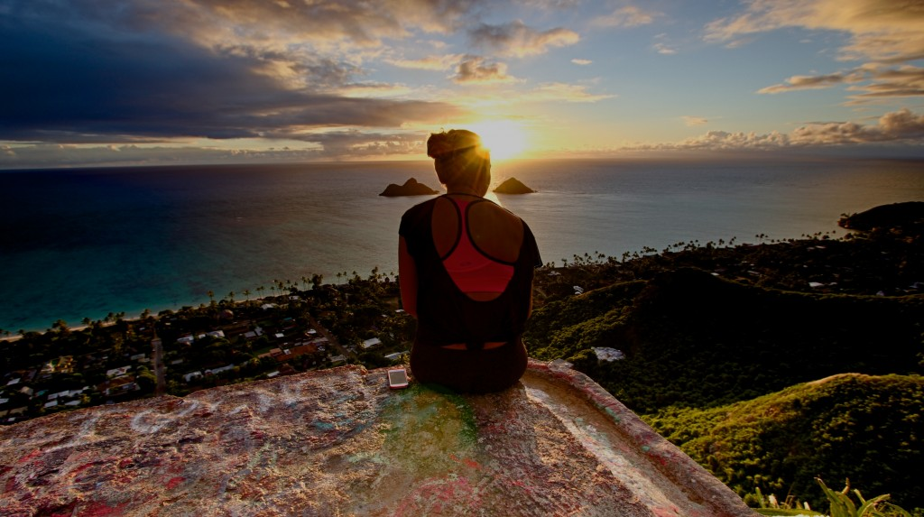 Kailua Hawaii Pillbox Hike Sunrise