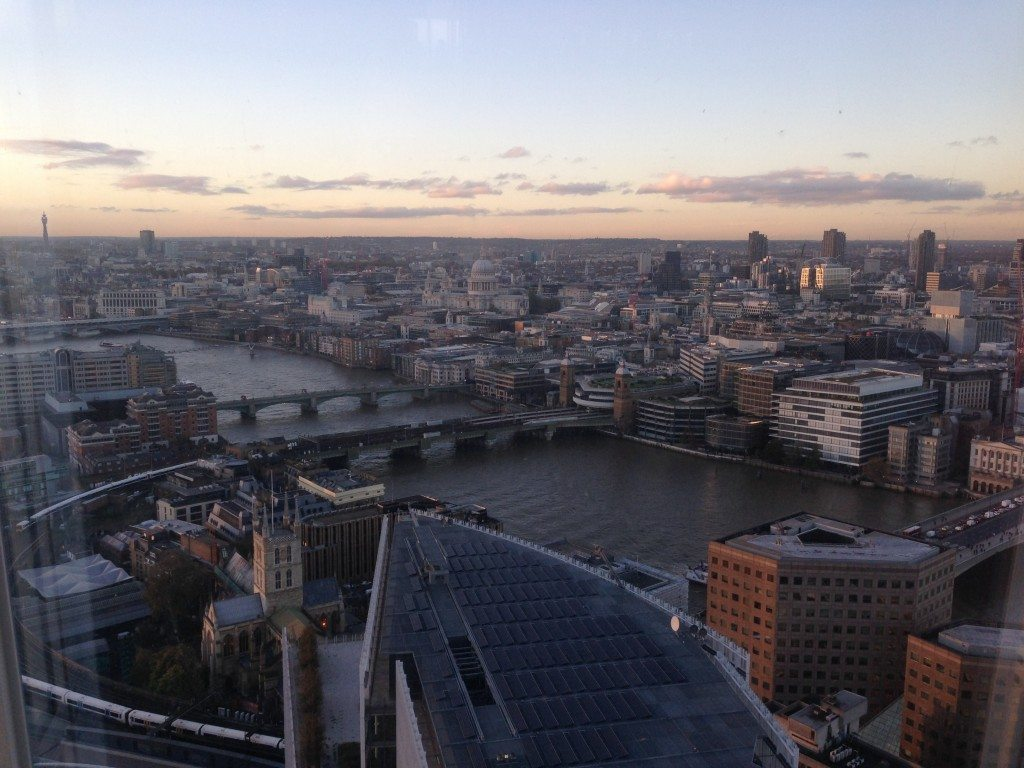 London View From Aqua Shard