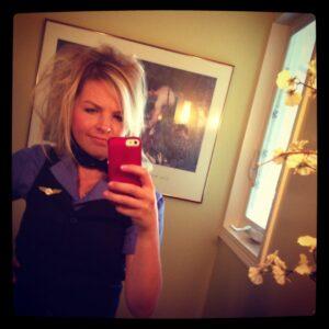 Flight Attendant Hair