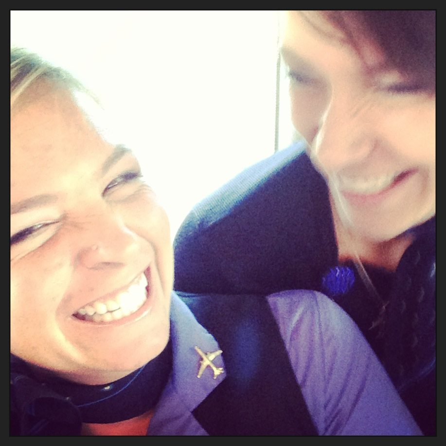 Flight Attendant Best Friends