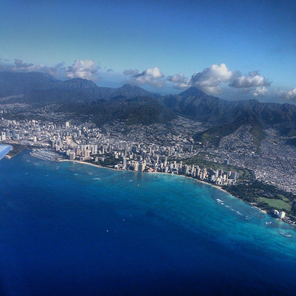 Hawaii Honolulu Hawaiian Air