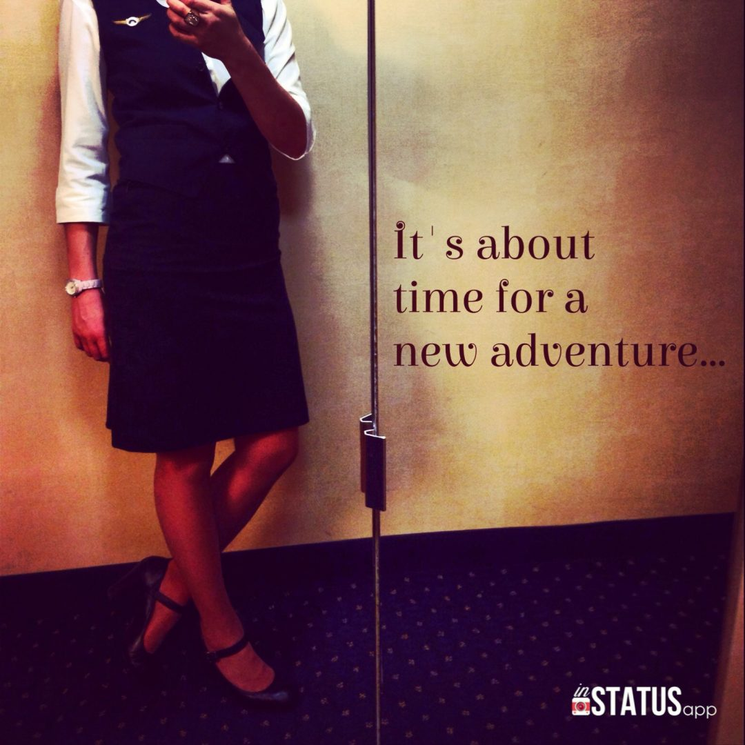 new adventure flight attendant