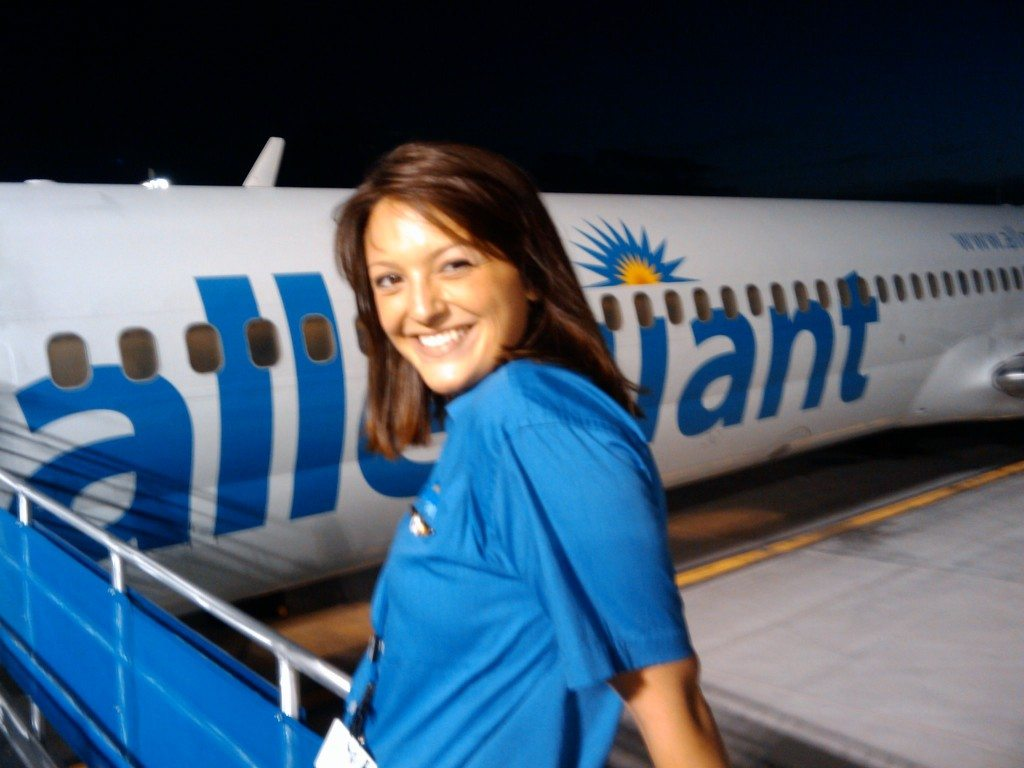 allegiant airlines flight attendant job