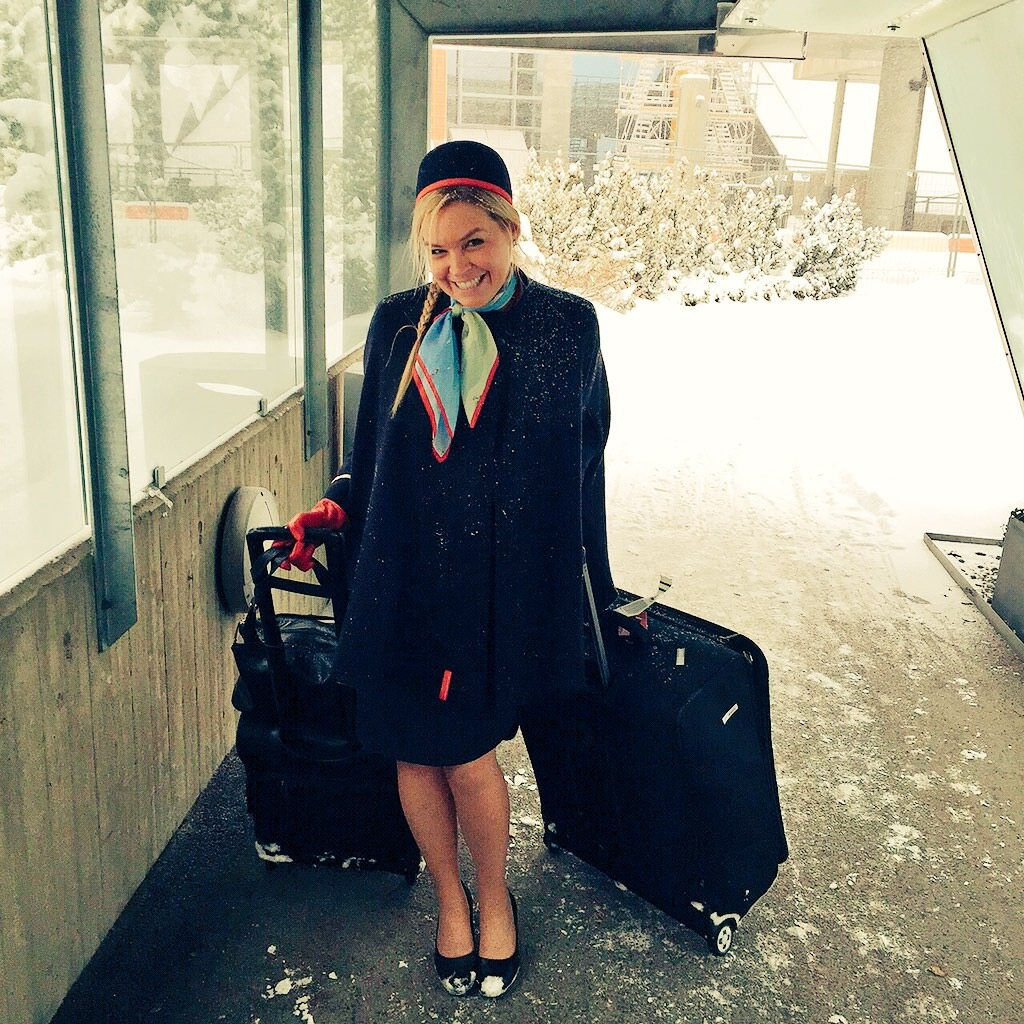 Kara Mulder Norwegian Cabin Crew Flight Attendant Blogger