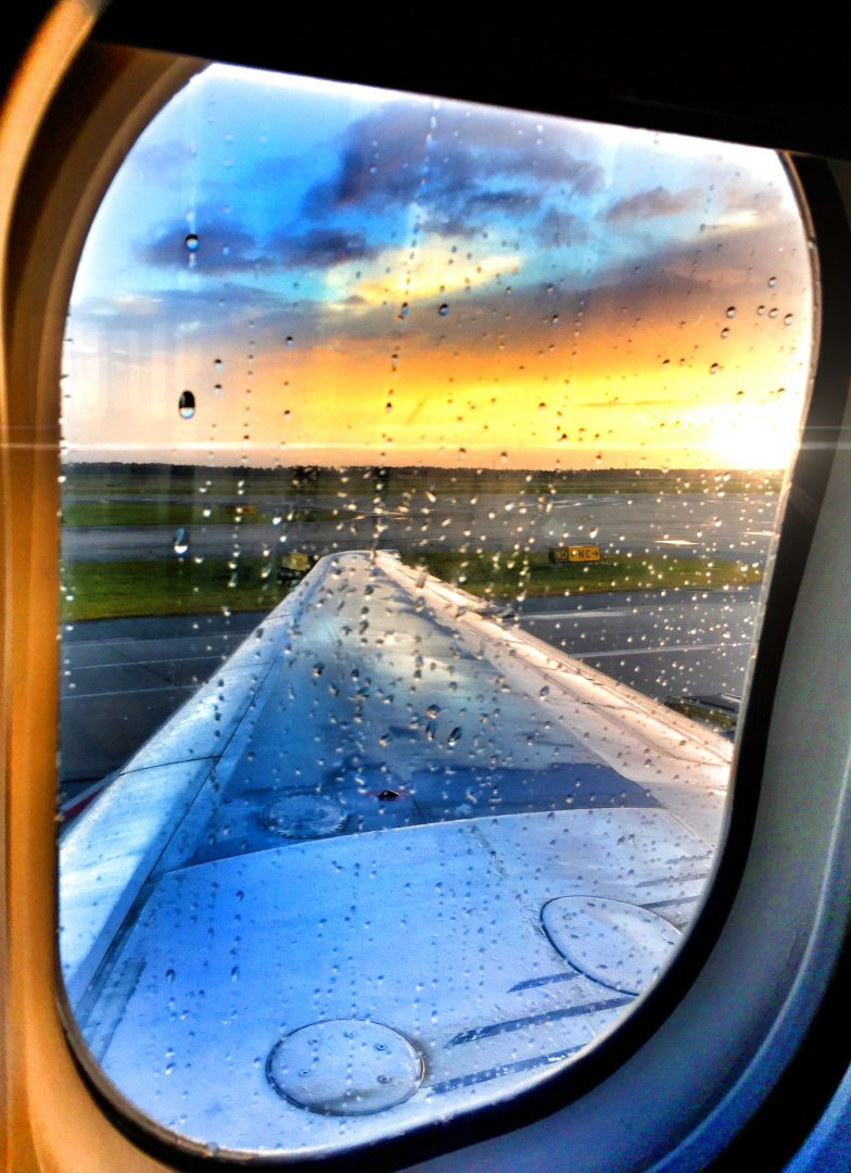 Airplane Window Meghan Hemingway