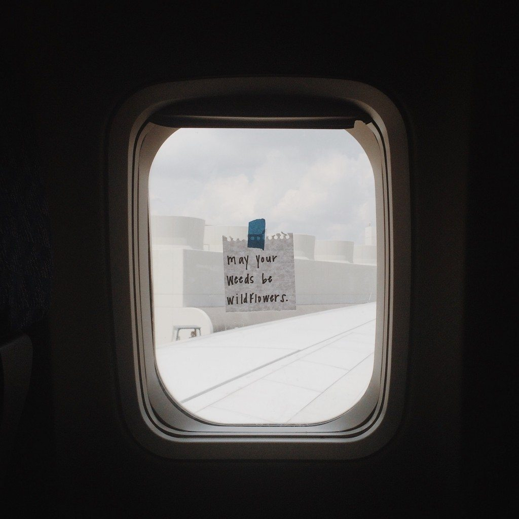 Words from a window seat Taylor Tippett