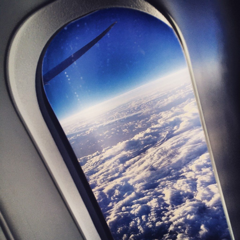 Airplane window boeing dreamliner
