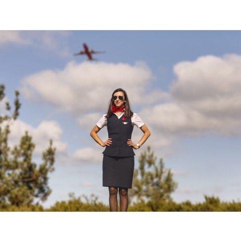 meghan delta flight attendant