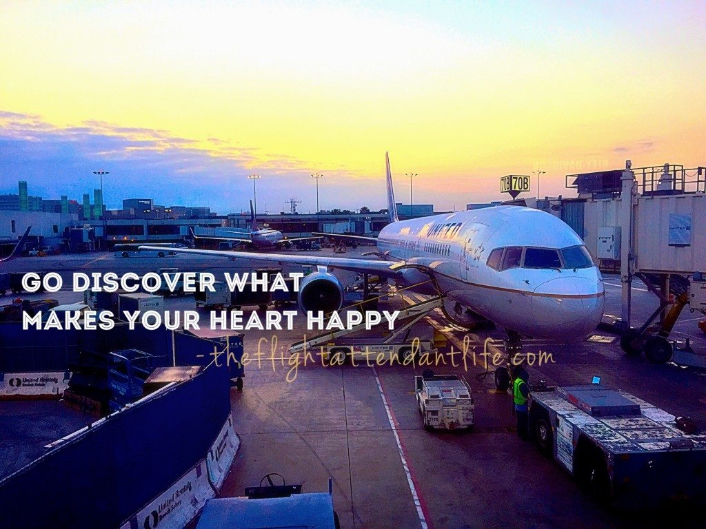 Heart Happy Flight Attendant