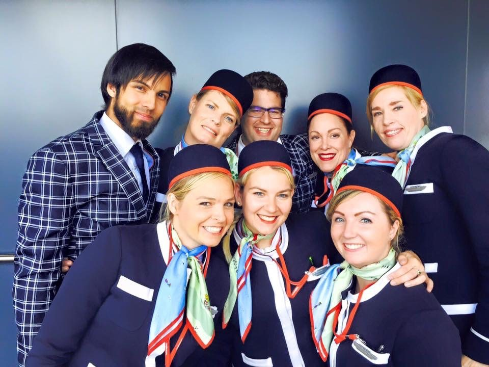 Norwegian Airlines Crew