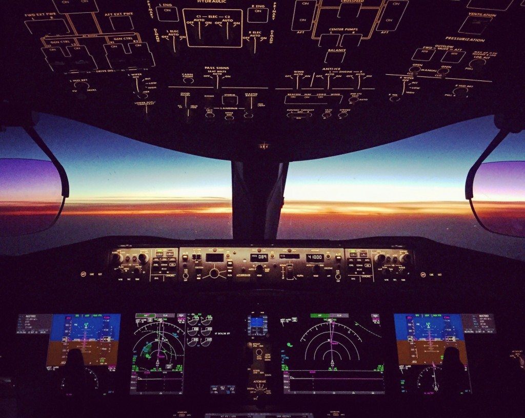 Flightdeck photo