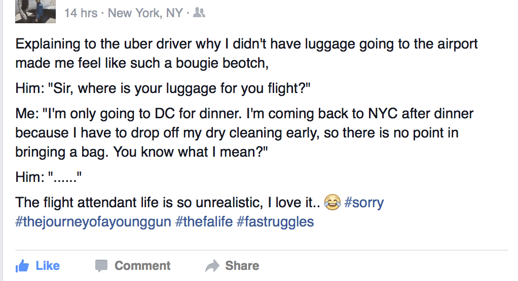 No Luggage- Griffin