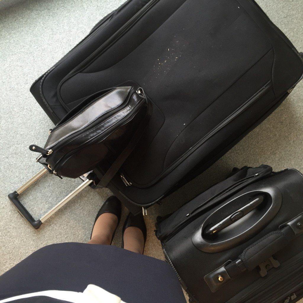 flight attendant luggage