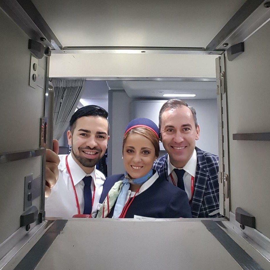 Cabin Crew Boeing Dreamliner