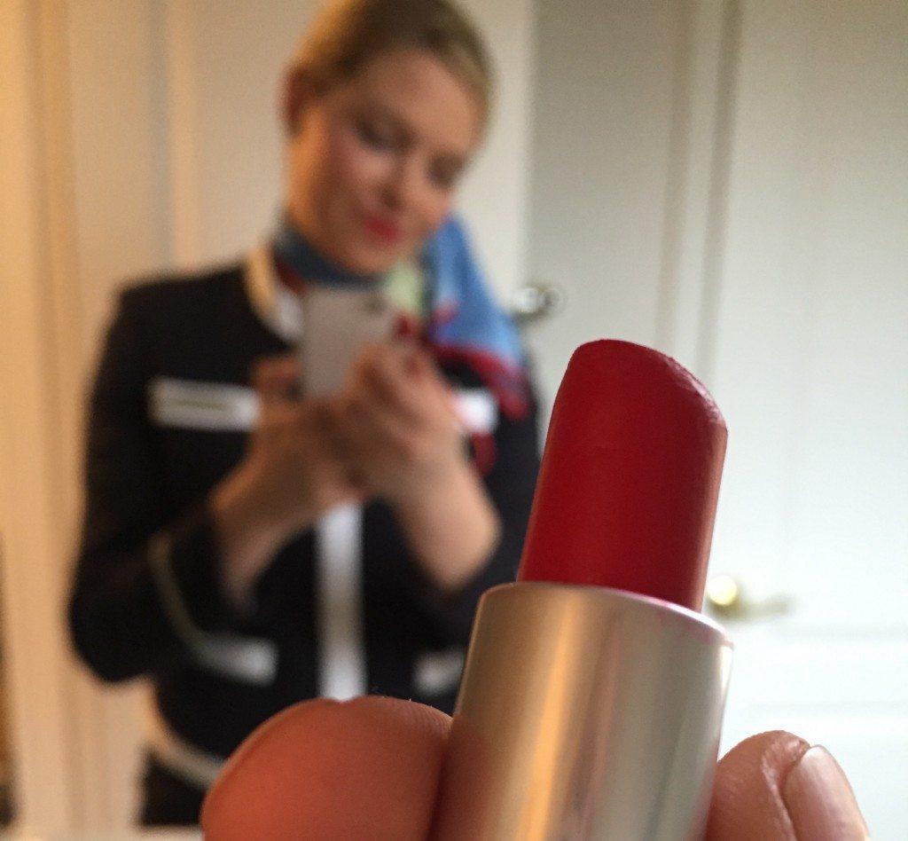 Kara Mulder Red Lipstick