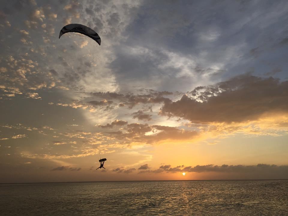 Isla Blanca Kiteboarding Mexico Kara Mulder
