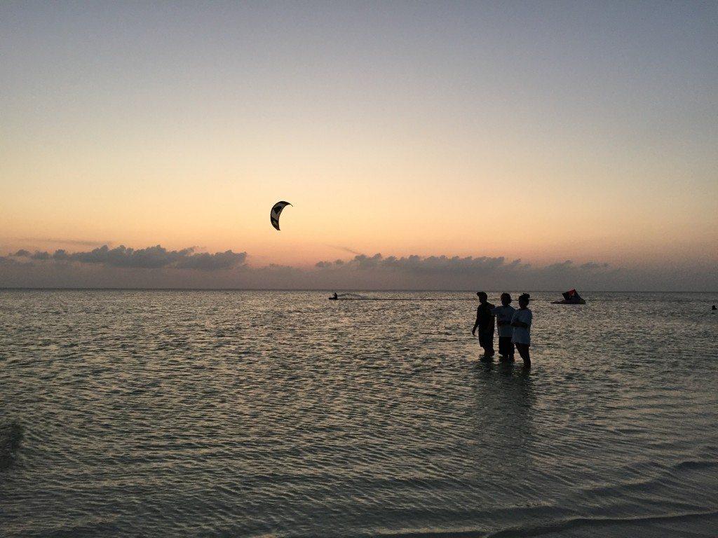 Isla Blanca kitesurf