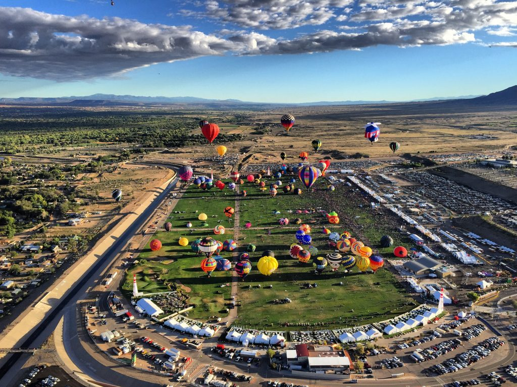 ABQ Balloon Fiesta New Mexico