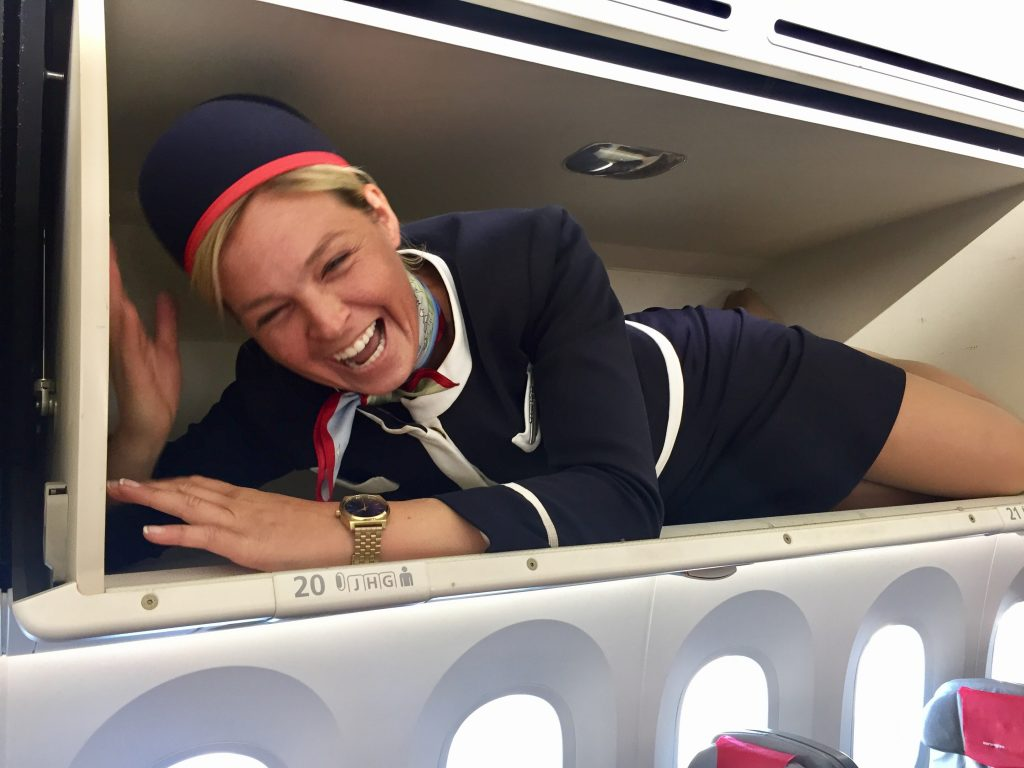 flight attendant blog Kara Mulder