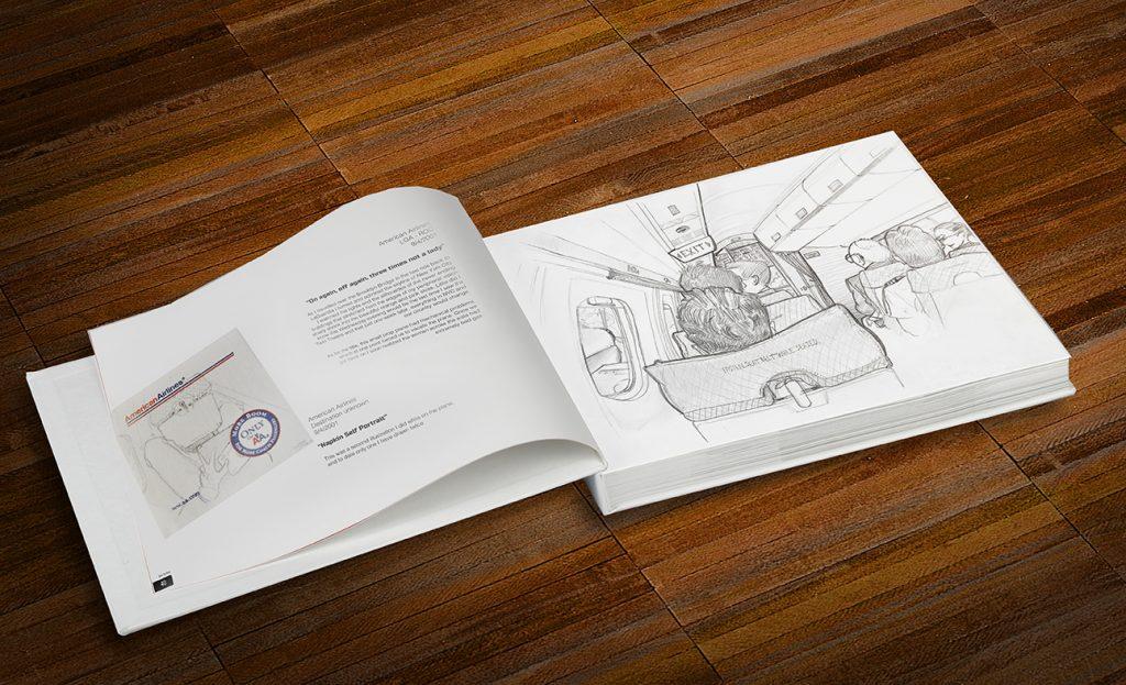 Draw The Plane Flight Attendant Life