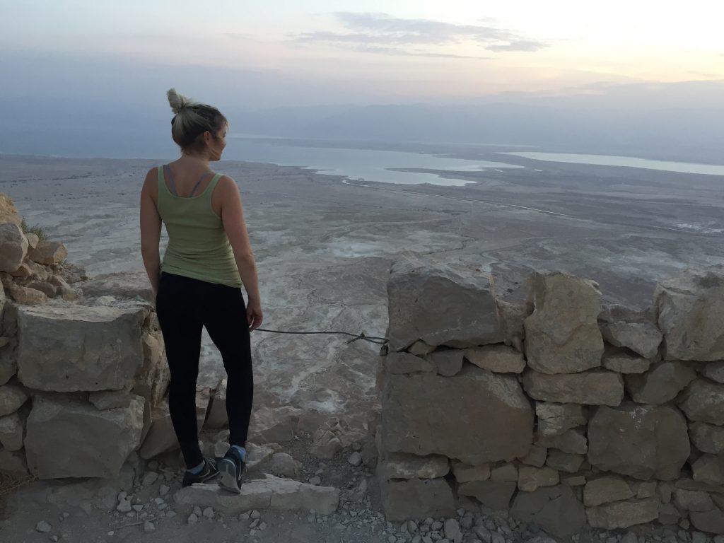 Kara Mulder masada Sunrise hike Israel