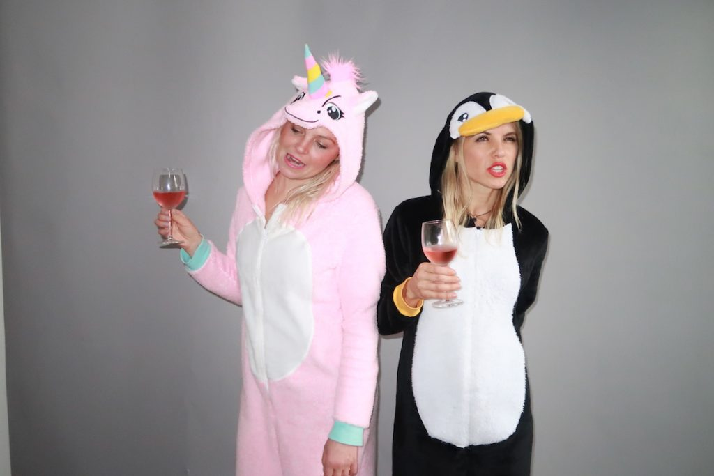 Unicorn and Penguin Onesie